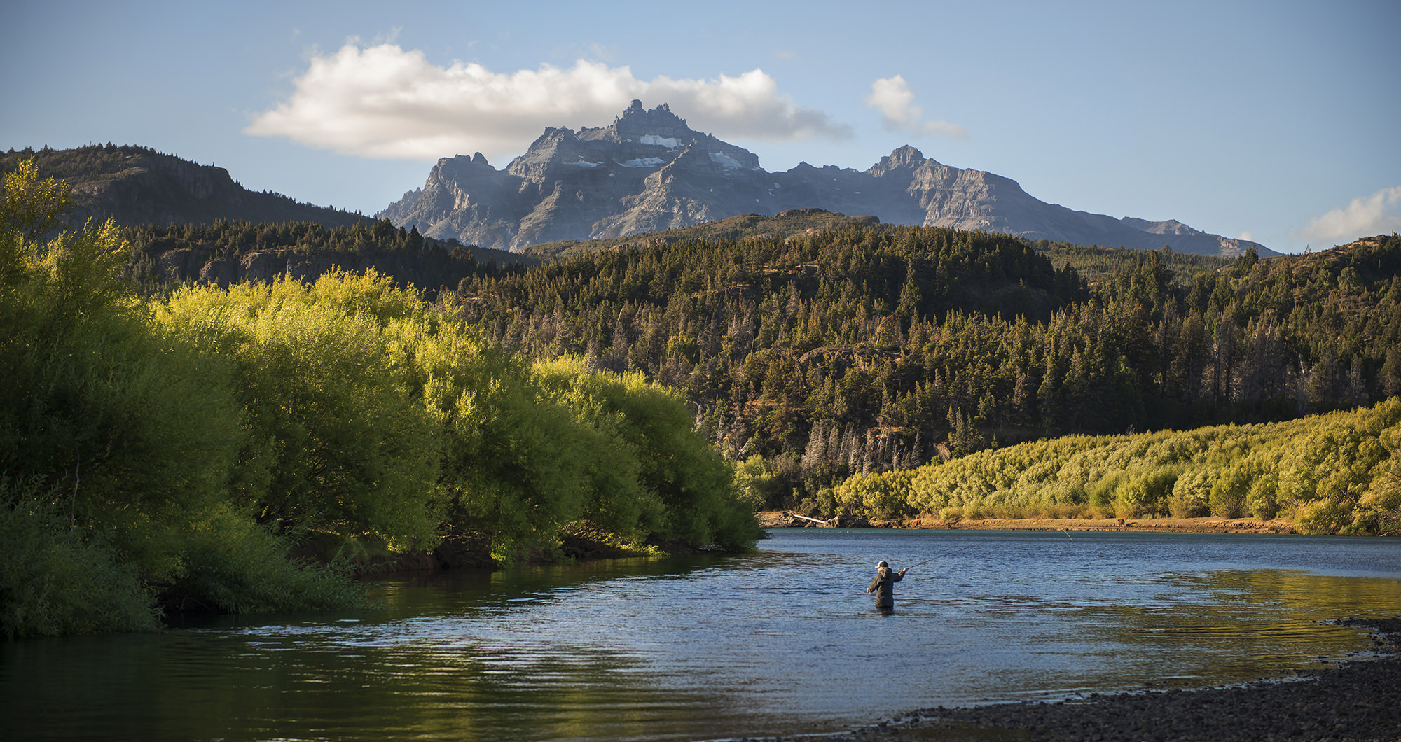 El encuentro fly fishing for Fly fishing argentina